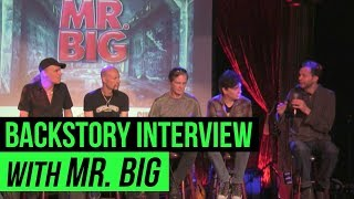 A live interview of Mr. Big as they discuss their new album 'Defyin...