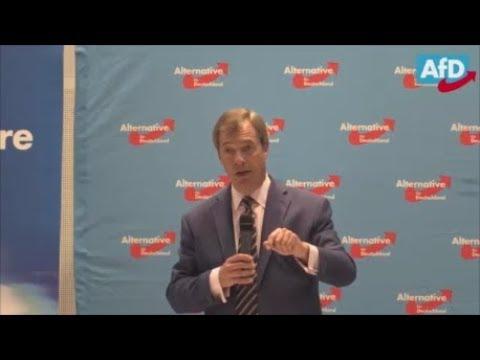 Nigel Farage speech in Germany