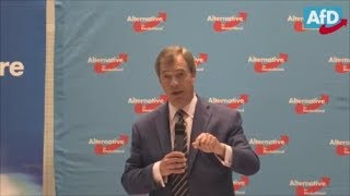 Nigel Farage speech in Germany