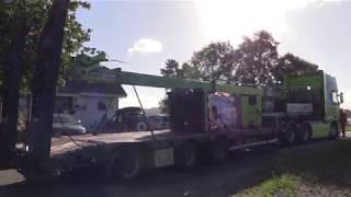 Flytting av gammelt hus