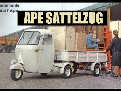 Die Ape Schrauber - Pentaro, der Ape Sattelzug