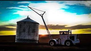 Big Bud Moving Bins In Epic 4k 60fps Video - Welker Farms Inc