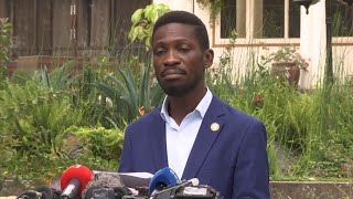 Bobi Wine to F24: 'We are isolated' and feel 'in danger'