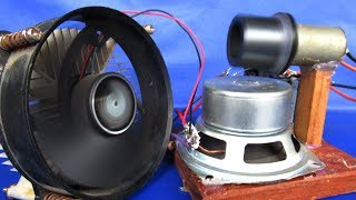 100% Free energy generator 220 Volts In Magnet Speaker - Project DIY 2018 Experiment easy