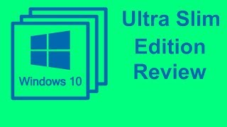 How to setup Windows 10 pro Ultra slim Edition and full review