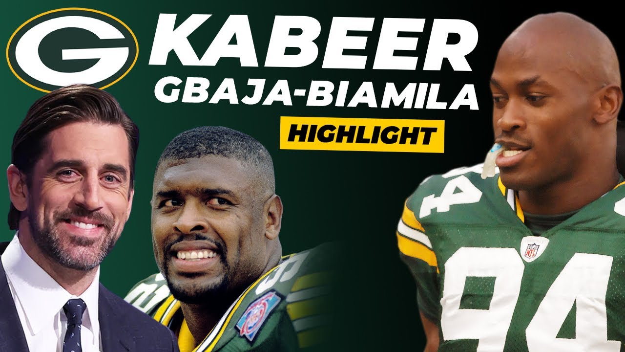 Kabeer Talks Aaron Rodgers, Reggie White & Playing for the Green Bay Packers (Highlight)