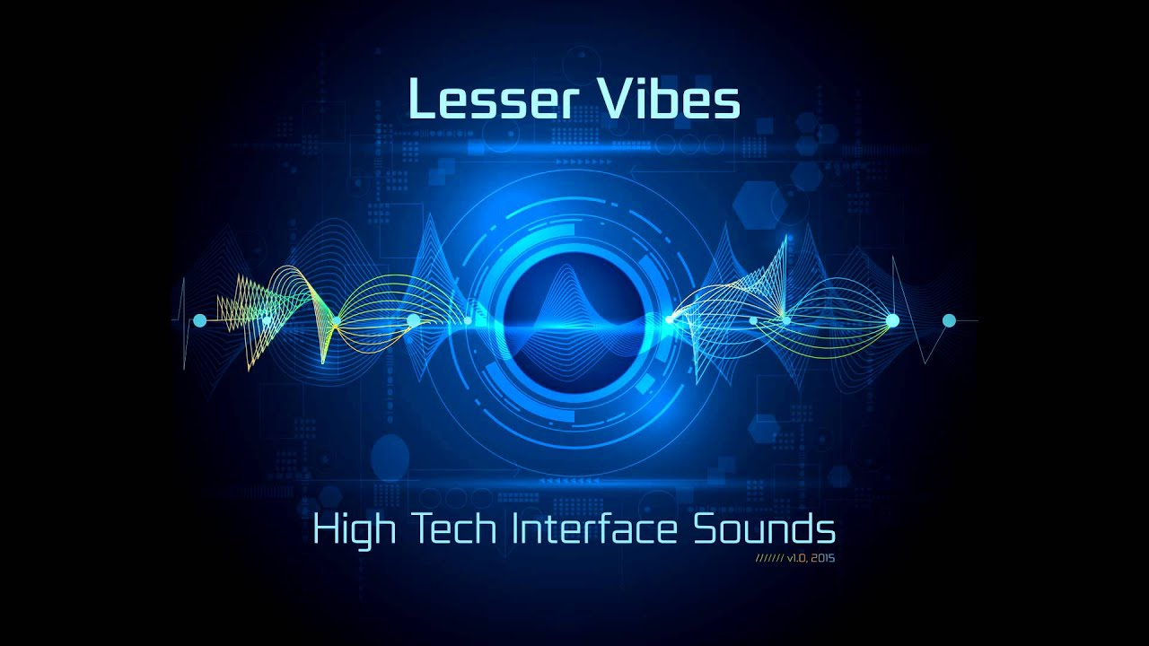 tech interface sounds vibes