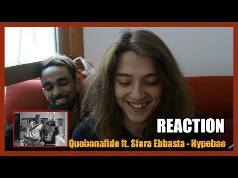 REACTION - Quebonafide ft. Sfera Ebbasta - Hypebae |HANDICAPWAY|