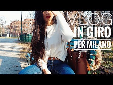 Vlog in giro per Milano -tanta cioccolata e la mia pelle si ribella,brufoli in festa sul mio volto😳