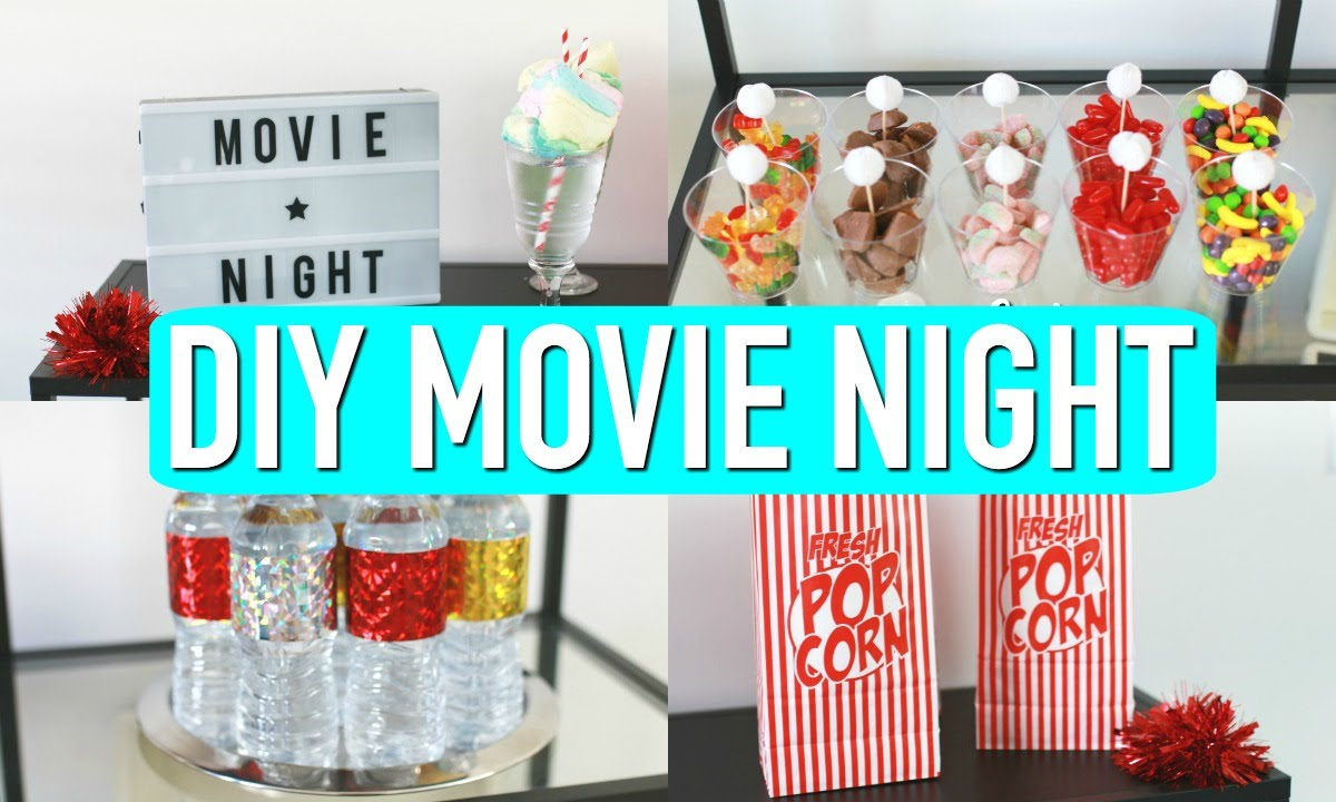Movie Night Party Decorations