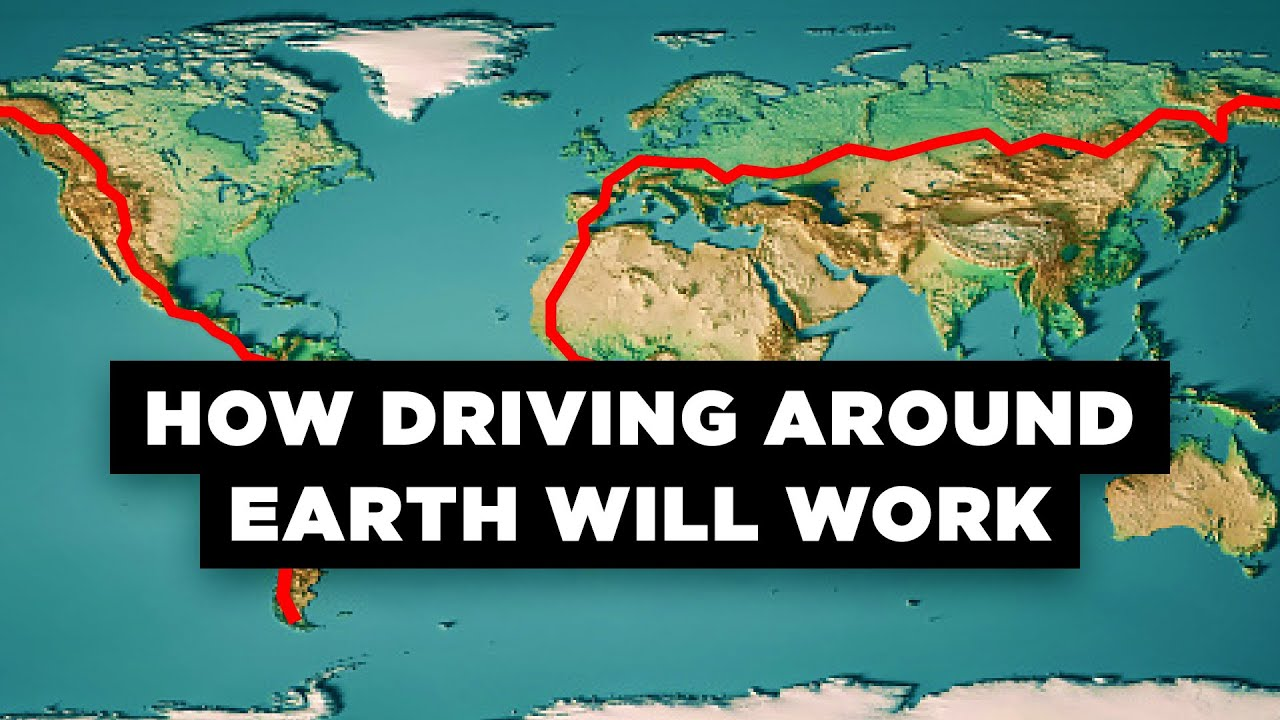 what if we built a road around the world youtube