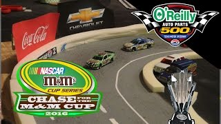 Nascar Stop Motion M&M Cup Series S3 Race 26: Texas Motor Speedway O'reilly Auto Parts 500