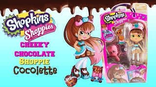New Shopkins Shoppie Cocolette Cheeky Chocolate Inspired Shoppie Doll