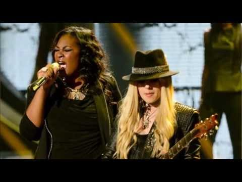 American Idol Finale Mariah Carey Disses JLO Candice Glover Wins