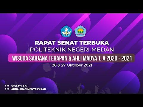 Wisuda Sarjana \u0026 Ahli Madya T.A 2020-2021 27 Oktober Sesi 2