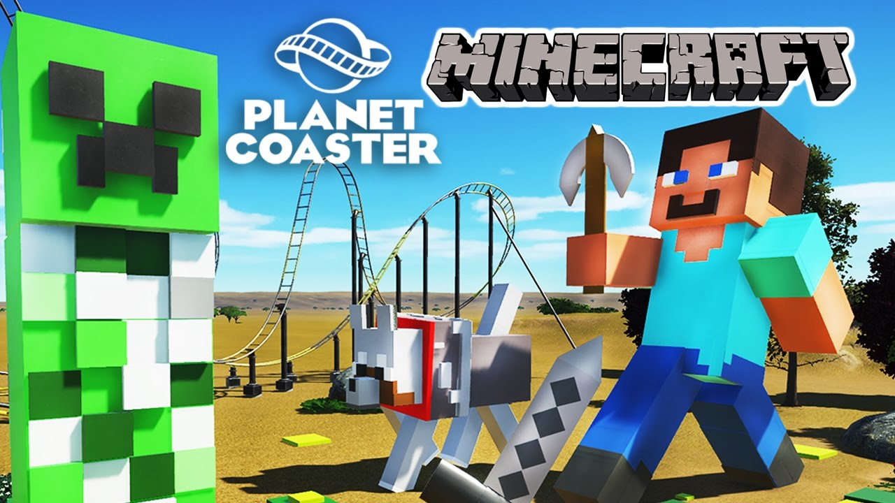MINECRAFT in Planet Coaster! - YouTube