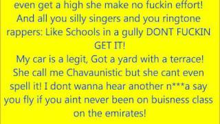 chase and status & tinie tempah hitz Mis-heard lyrics
