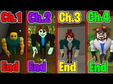 Roblox - All 4 Endings - Bakon (CHAPTER 1 - CHAPTER 4)