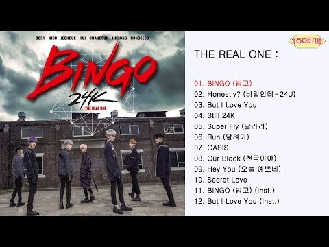 Full Album 24K 투포케이  THE REAL ONE 1st Album