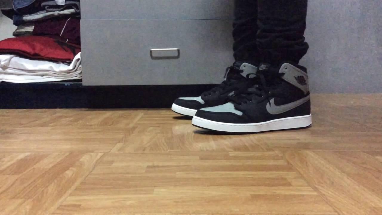 newest 041f2 52835 Air Jordan 1 KO Shadow on feet