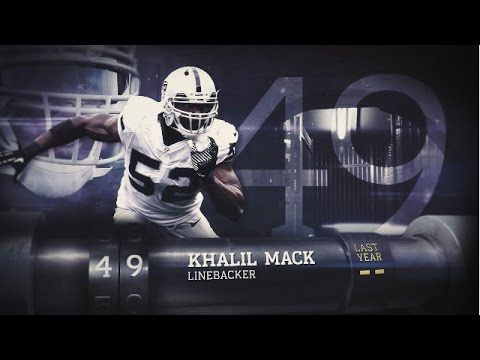 #49 Khalil Mack (LB, Raiders) | Top 100 Players of 2015