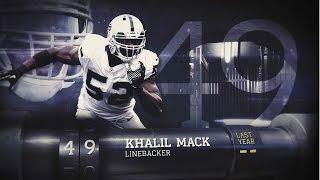 #49 Khalil Mack (LB, Raiders) | Top 100 Players Of 2015