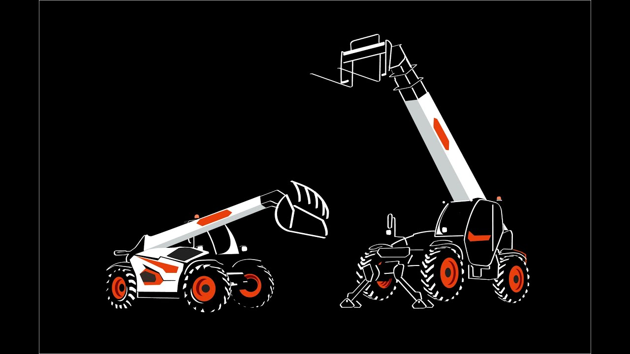 New Generation of Bobcat Telehandlers and Telescopic Loaders