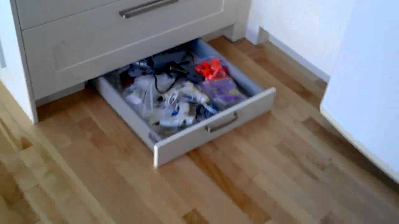 Nice How To Build A Hidden Drawer In Toe Kick   YouTube
