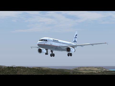 FSX Aegean Airlines Airbus Vatsim Cairo Athens