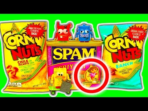 Mystery Unboxing USA Bizarre Foods BM22 Very Dangerous Spam