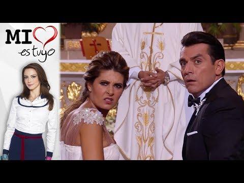 ¡Ana interrumpe la boda de Isabela y Fernando! | Mi corazón es tuyo - Televisa thumbnail
