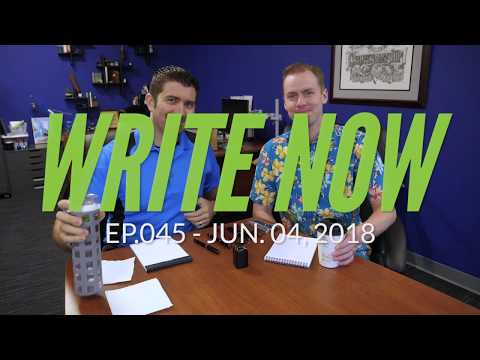 Write Now - Ep.045: Comparing Flex Nibs