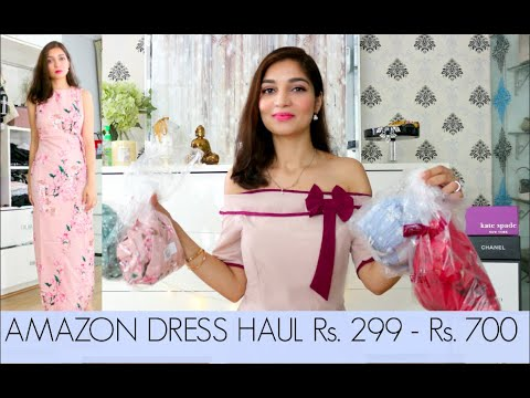 AMAZON DRESS HAUL Rs. 299 - Rs. 700   AMAZON SALE HAUL   Tanu Gupta