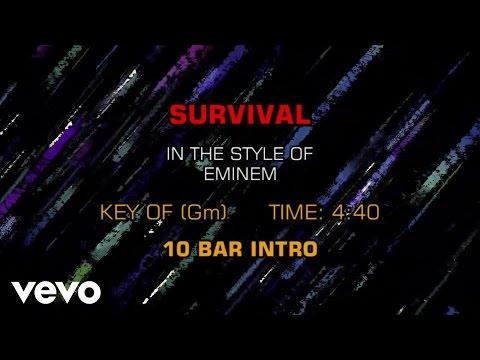 Eminem - Survival (Karaoke)