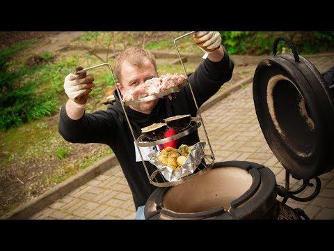 Мясо, Картофель и Баклажан в Тандыре!