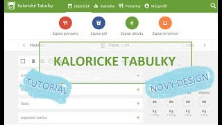 ZELENÁ FAZOLKA | Kalorické tabulky - Tutoriál