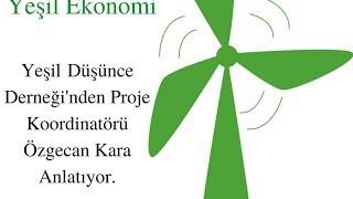 Yeşil İklim Yeşil Ekonomi: Proje Koordinatörü Özgecan Kara Sorularımızı Cevaplıyor