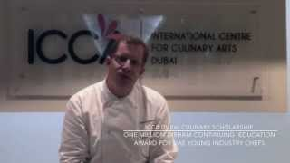 Chef Christian Gradnitzer for ICCA Dubai Culinary Scholarship Program