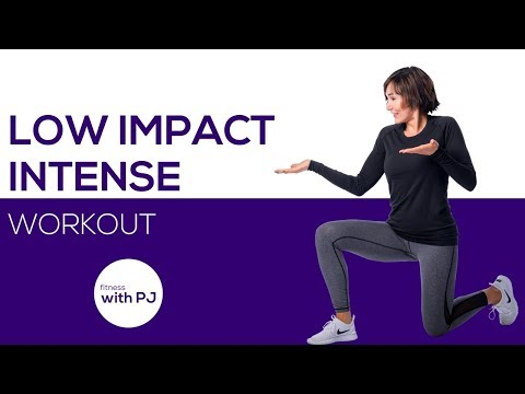50-Minute Low Impact Intense Workout 💐