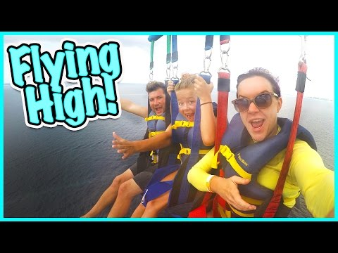 😳 DO WE MAKE IT TO 800 FEET!?!? 😳 IS JESSE BRAVE ENOUGH TO GO PARASAILING? 😳