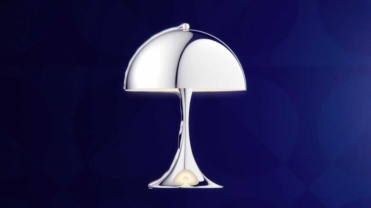 Panthella MINI Chrome designed by Verner Panton YouTube