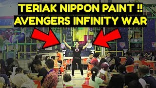 TERIAK NIPPON PAINT ala BLACK PANTHER di AVENGERS INFINITY WAR - PRANK INDONESIA