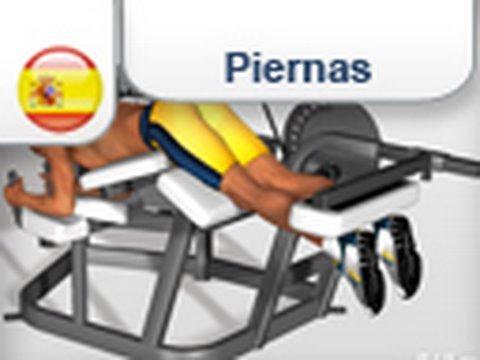 Ejercicios para piernas youtube for Maquinas de ejercicios