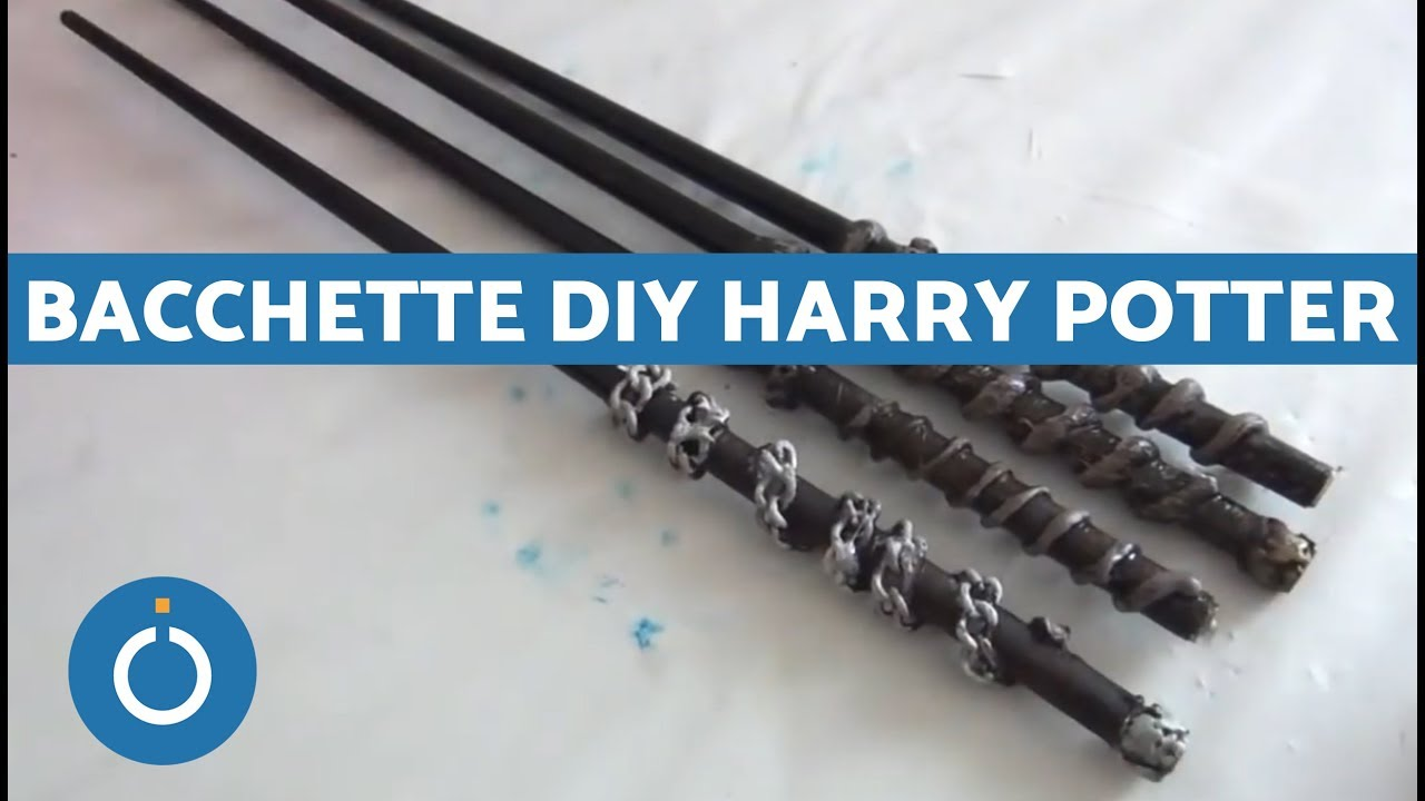 Bacchette Harry Potter Fai Da Te Tutorial Diy Bacchetta Di Harry Potter