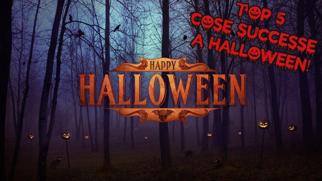 Top 5 Cose Piu Tenebrose Successe A Halloween Speciale Halloween