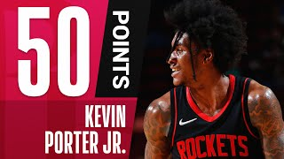 Kevin Porter Jr. Becomes YOUNGEST Player to Post 50+ PTS & 10+ AST! 🔥