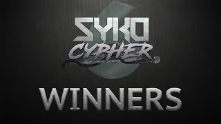 SYKO CYPHER 6 WINNERS