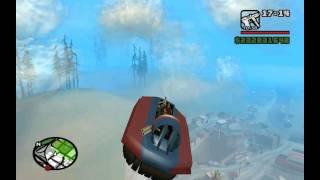Gta sanandreas how to fly vortex secret