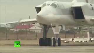 Attaque massive de l'aviation russe sur des objectifs terroristes en Syrie