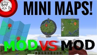 Minecraft Minimap Mods: Mod VS Mod